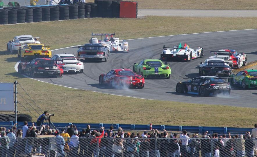 Rolex 24, Day 1: Corvettes Impress, Scary Crash Red Flags Race for 1.5 Hours - Slide 3