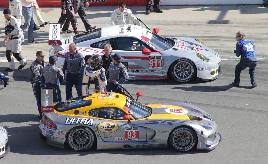 Rolex 24, Day 1: Corvettes Impress, Scary Crash Red Flags Race for 1.5 Hours - Slide 6