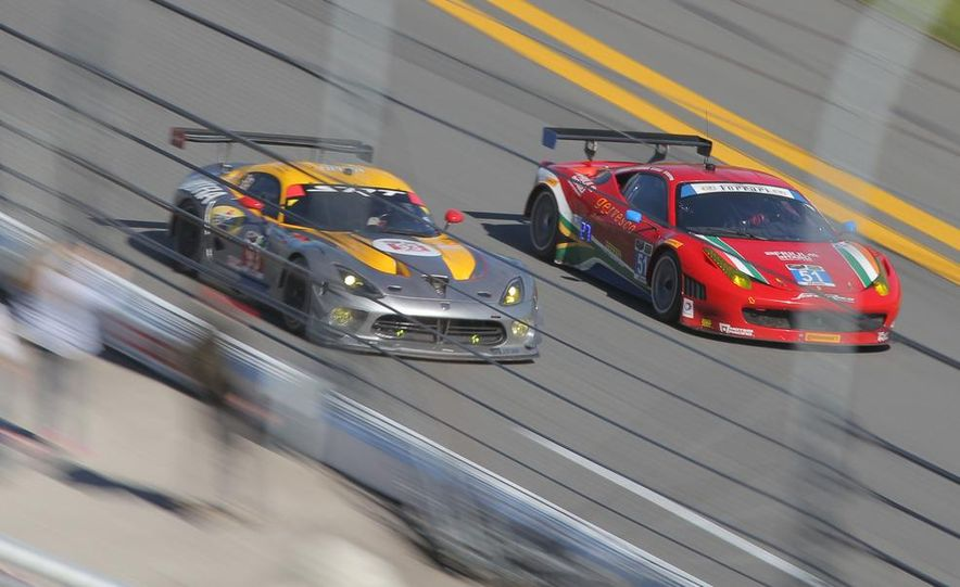 Rolex 24, Day 1: Corvettes Impress, Scary Crash Red Flags Race for 1.5 Hours - Slide 7