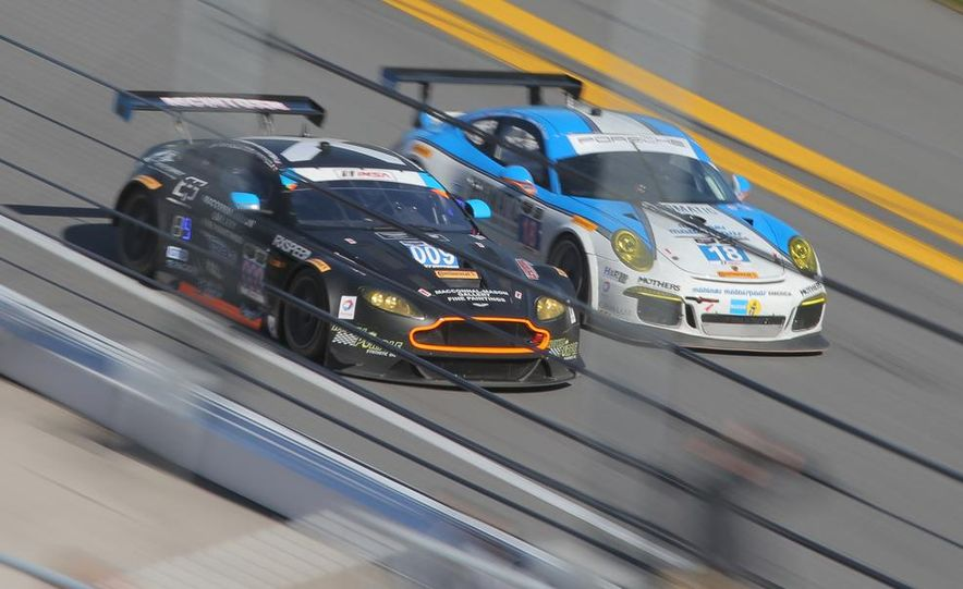 Rolex 24, Day 1: Corvettes Impress, Scary Crash Red Flags Race for 1.5 Hours - Slide 8
