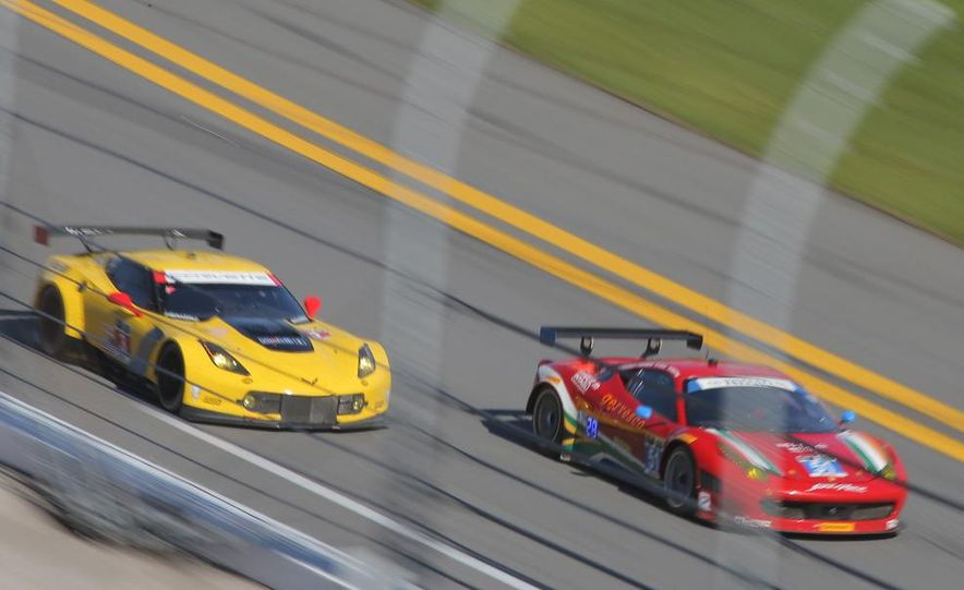 Rolex 24, Day 1: Corvettes Impress, Scary Crash Red Flags Race for 1.5 Hours - Slide 9