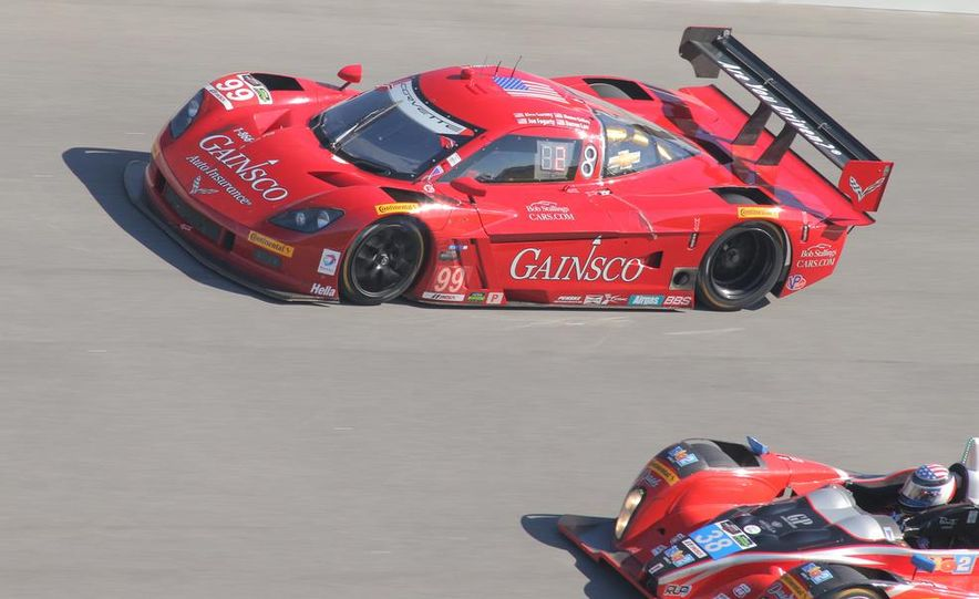Rolex 24, Day 1: Corvettes Impress, Scary Crash Red Flags Race for 1.5 Hours - Slide 10