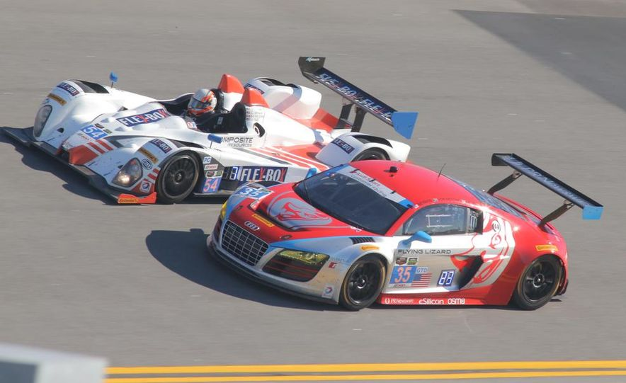 Rolex 24, Day 1: Corvettes Impress, Scary Crash Red Flags Race for 1.5 Hours - Slide 11