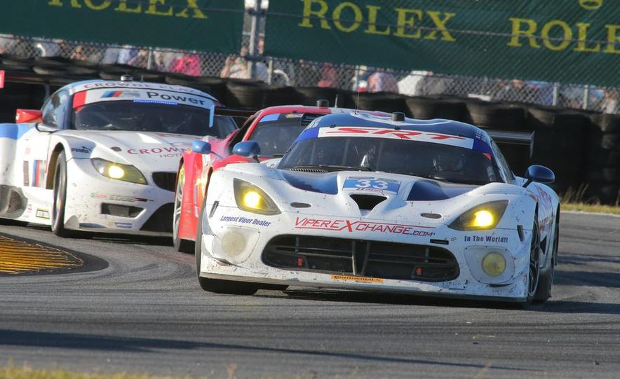 Rolex 24, Day 1: Corvettes Impress, Scary Crash Red Flags Race for 1.5 Hours - Slide 13