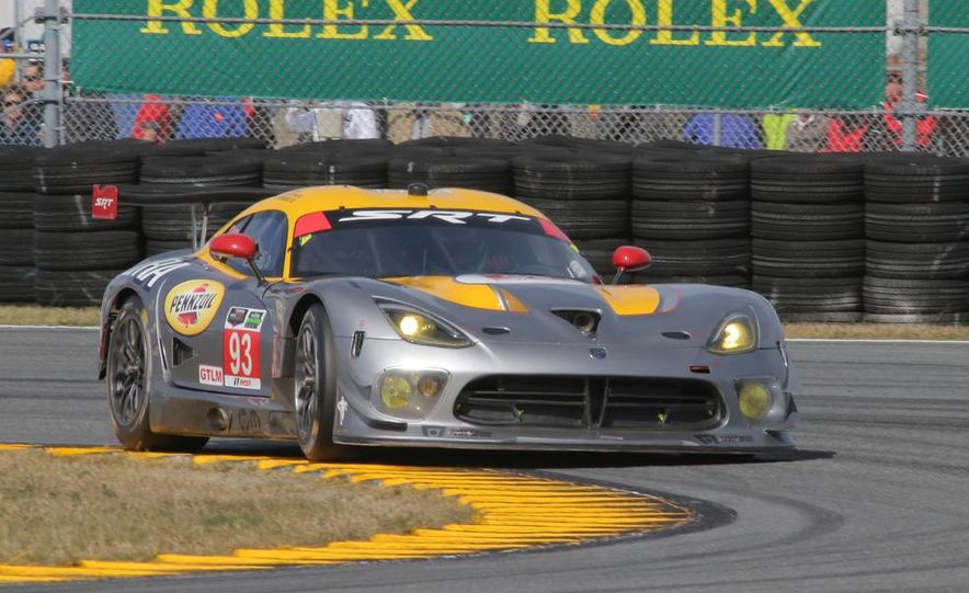 Rolex 24, Day 1: Corvettes Impress, Scary Crash Red Flags Race for 1.5 Hours - Slide 23