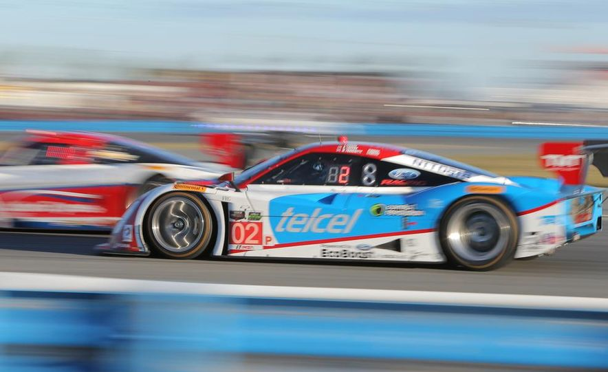 Rolex 24, Day 1: Corvettes Impress, Scary Crash Red Flags Race for 1.5 Hours - Slide 36