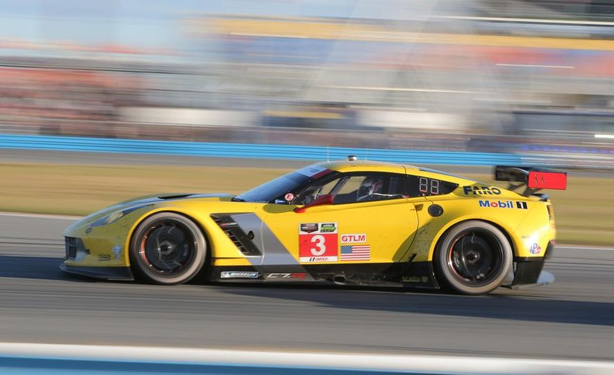 Rolex 24, Day 1: Corvettes Impress, Scary Crash Red Flags Race for 1.5 Hours - Slide 37