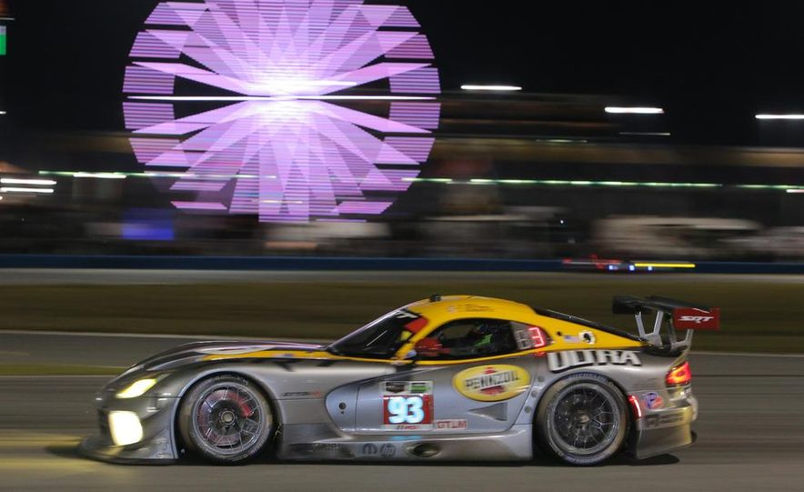 Rolex 24, Day 1: Corvettes Impress, Scary Crash Red Flags Race for 1.5 Hours - Slide 42