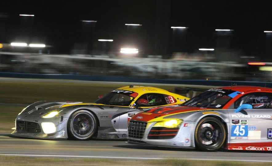 Rolex 24, Day 1: Corvettes Impress, Scary Crash Red Flags Race for 1.5 Hours - Slide 46