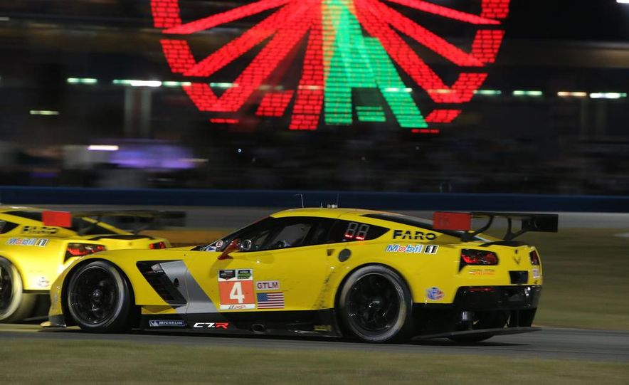 Rolex 24, Day 1: Corvettes Impress, Scary Crash Red Flags Race for 1.5 Hours - Slide 47