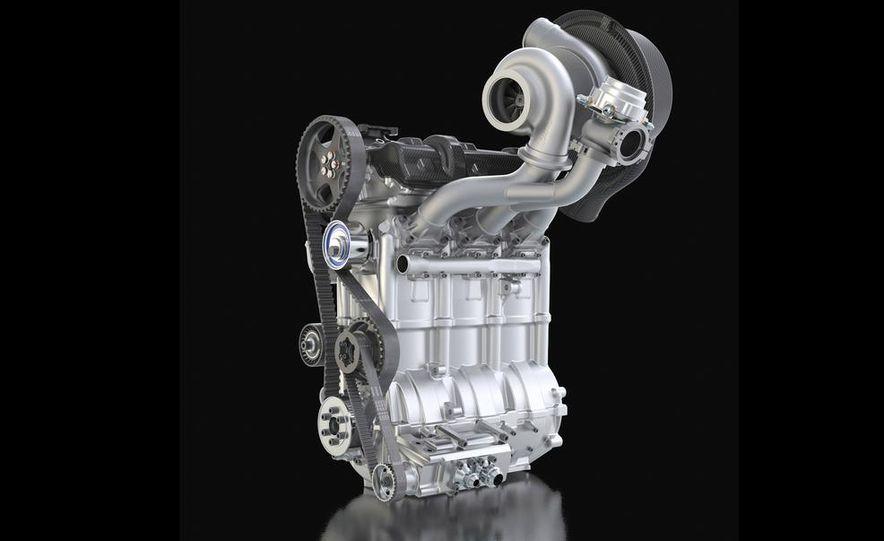 Nissan DIG-T R turbocharged 1.5-liter 3-cylinder engine - Slide 4