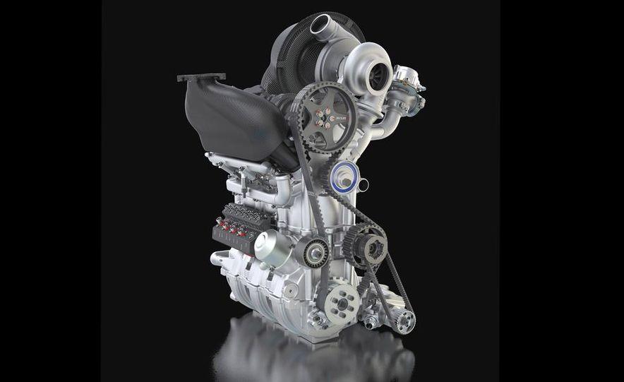 Nissan DIG-T R turbocharged 1.5-liter 3-cylinder engine - Slide 3
