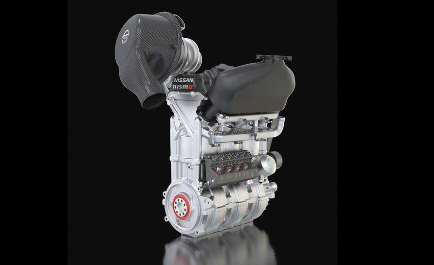 Nissan DIG-T R turbocharged 1.5-liter 3-cylinder engine - Slide 5