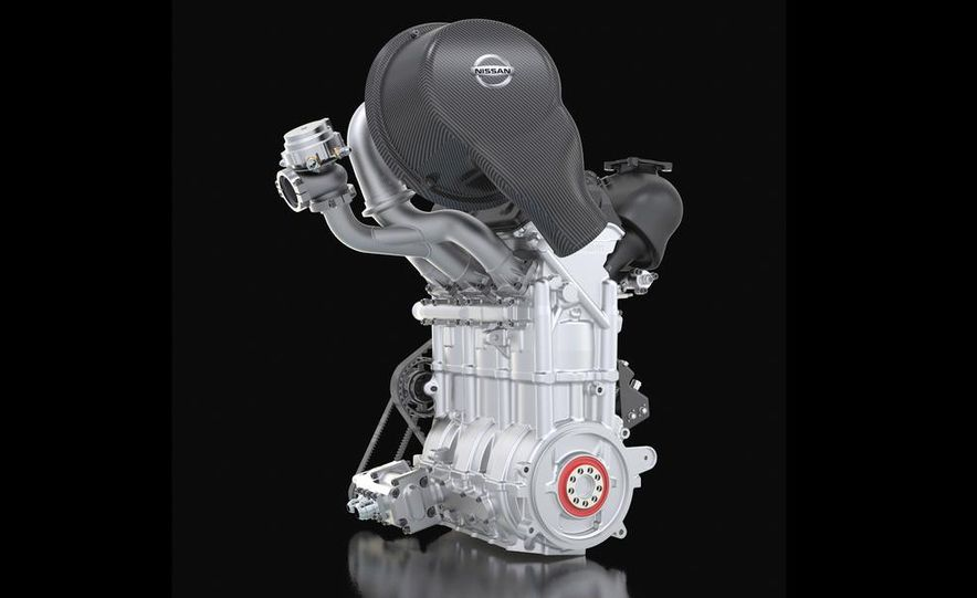 Nissan DIG-T R turbocharged 1.5-liter 3-cylinder engine - Slide 1