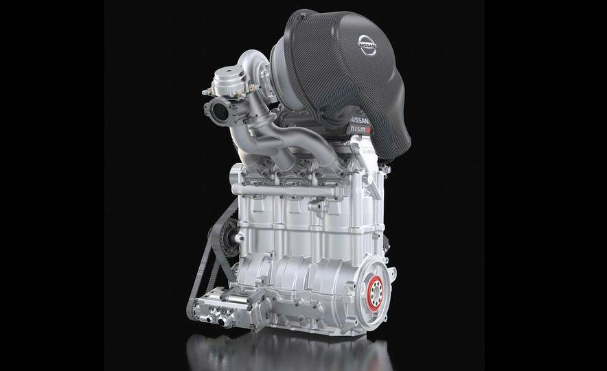 Nissan DIG-T R turbocharged 1.5-liter 3-cylinder engine - Slide 2