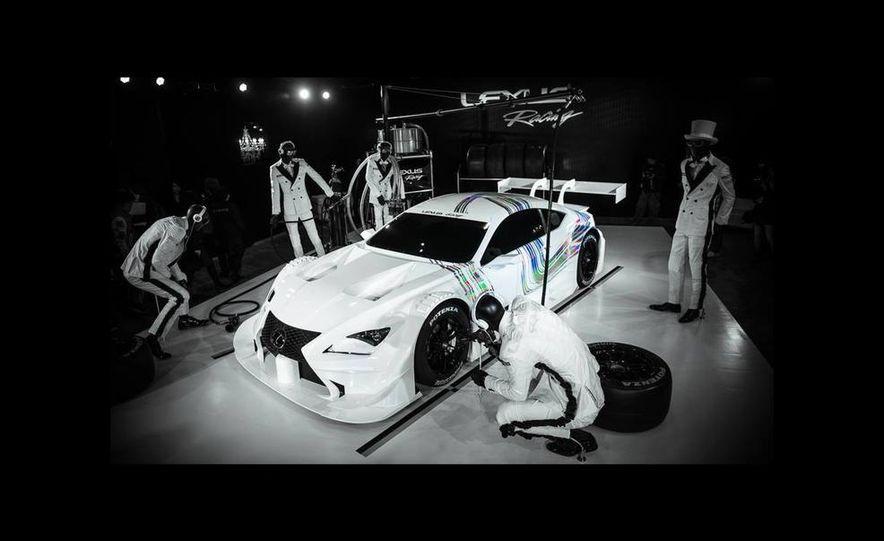 Lexus RC F GT500 race car - Slide 1