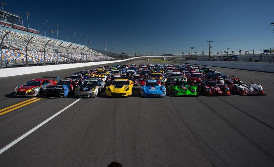 Because Race Cars Are Always Cool: More Amazing Photos from the 2014 Rolex 24 at Daytona - Slide 1
