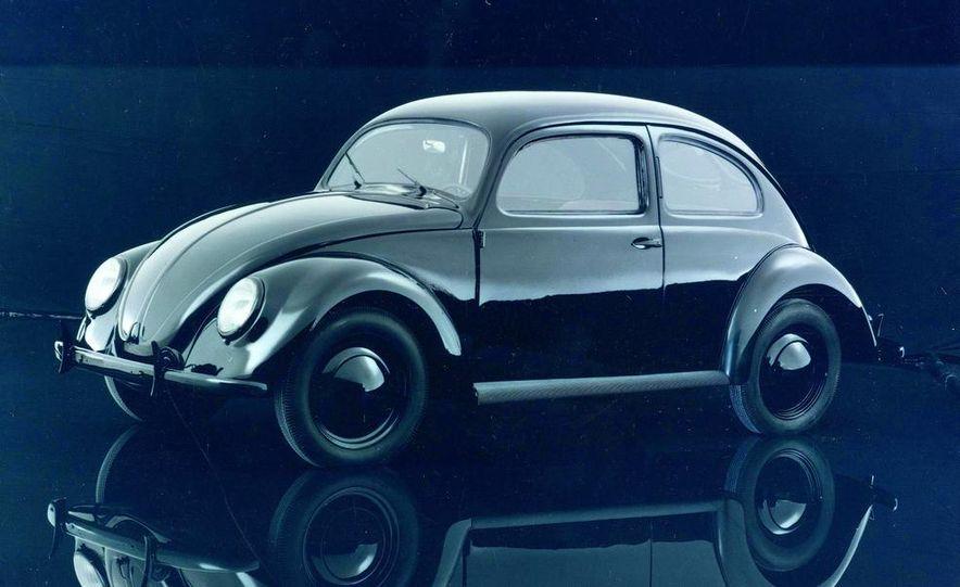 2014 and 1949 Volkswagen Beetle - Slide 6