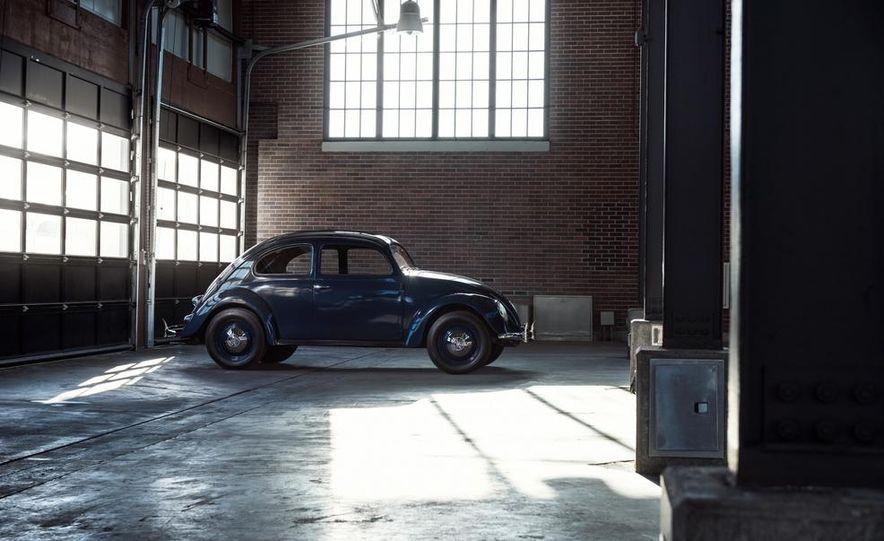 2014 and 1949 Volkswagen Beetle - Slide 3