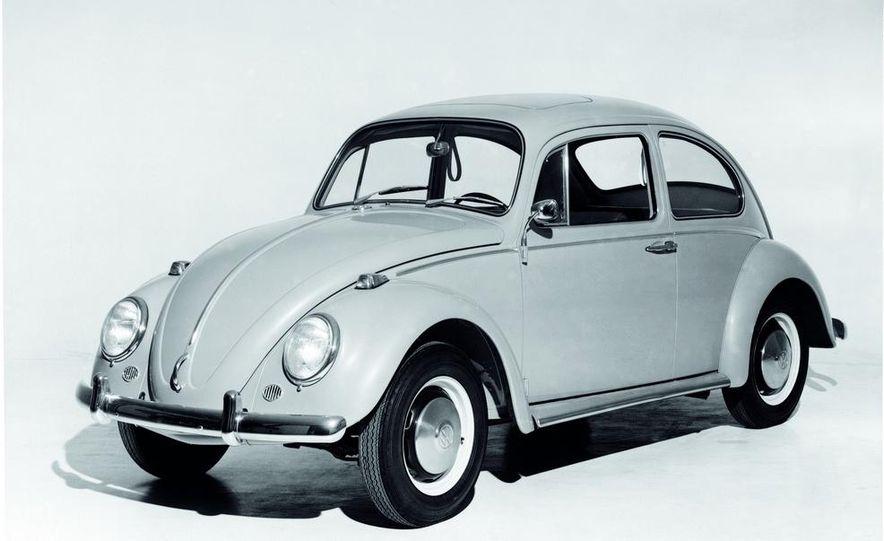 2014 and 1949 Volkswagen Beetle - Slide 4
