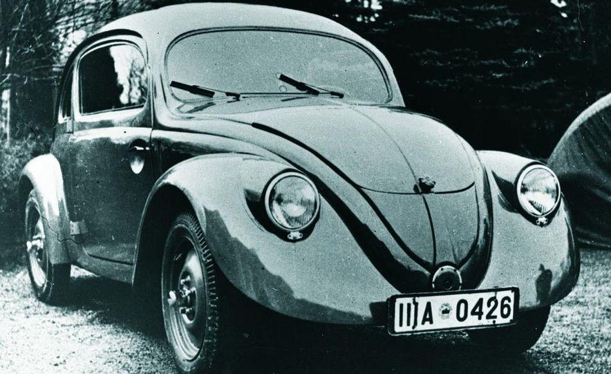 2014 and 1949 Volkswagen Beetle - Slide 7