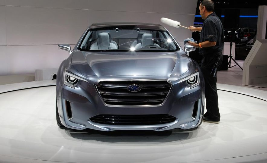 2015 Subaru Legacy - Slide 14