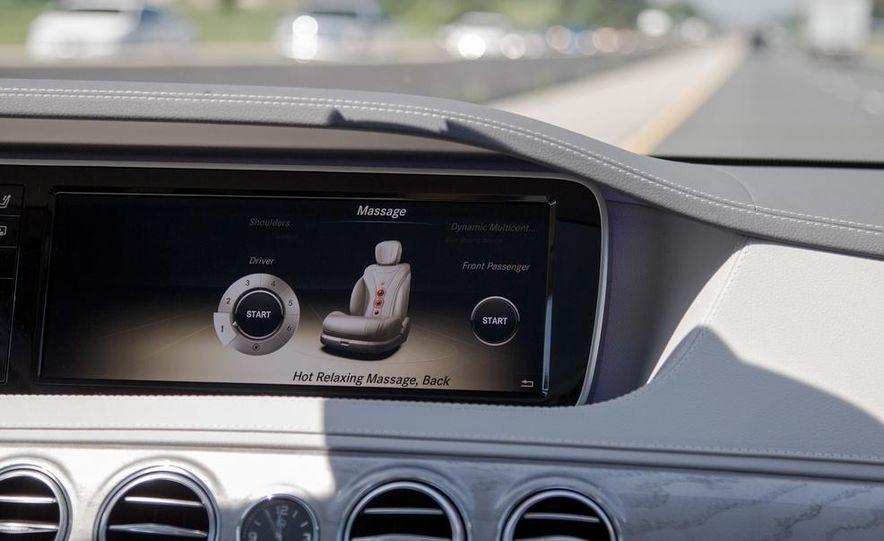 2015 Mercedes-Benz S300 BlueTec Hybrid - Slide 38