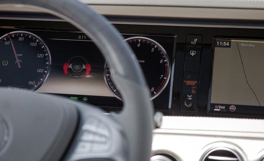 2015 Mercedes-Benz S300 BlueTec Hybrid - Slide 36