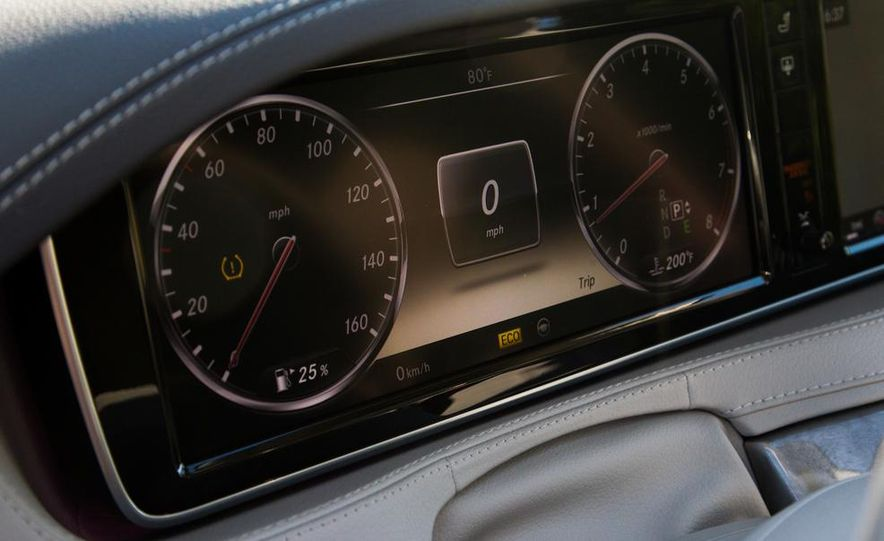 2015 Mercedes-Benz S300 BlueTec Hybrid - Slide 53
