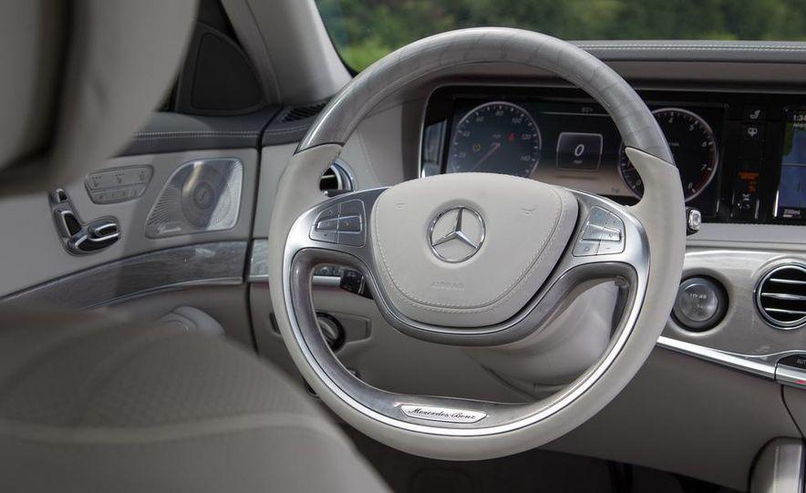 2015 Mercedes-Benz S300 BlueTec Hybrid - Slide 27