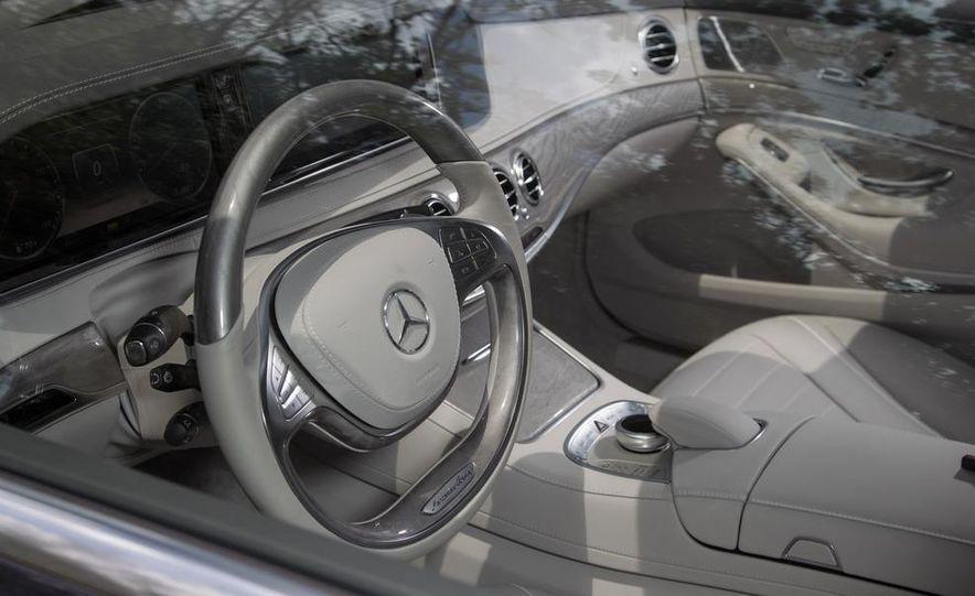 2015 Mercedes-Benz S300 BlueTec Hybrid - Slide 28