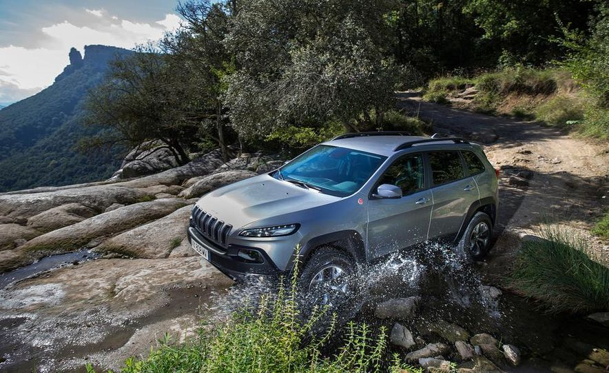 Jeep Cherokee Limited diesel (Euro-spec) - Slide 18