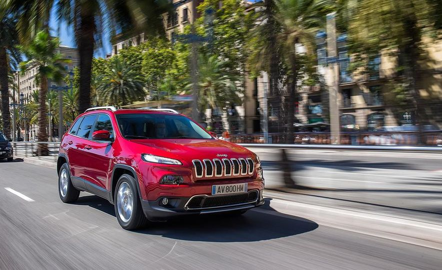 Jeep Cherokee Limited diesel (Euro-spec) - Slide 7