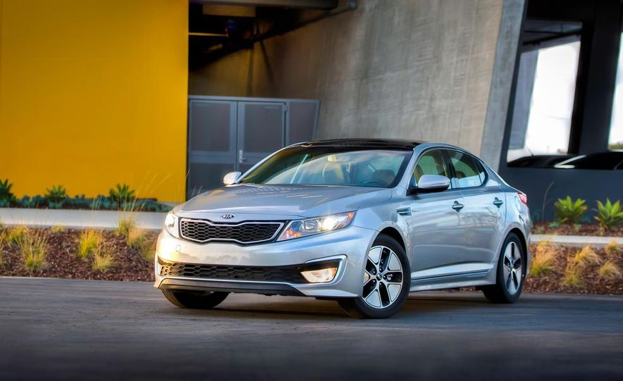 2014 Kia Optima hybrid - Slide 19