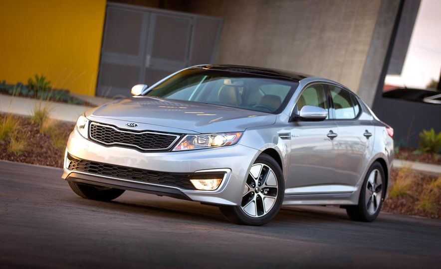 2014 Kia Optima hybrid - Slide 20