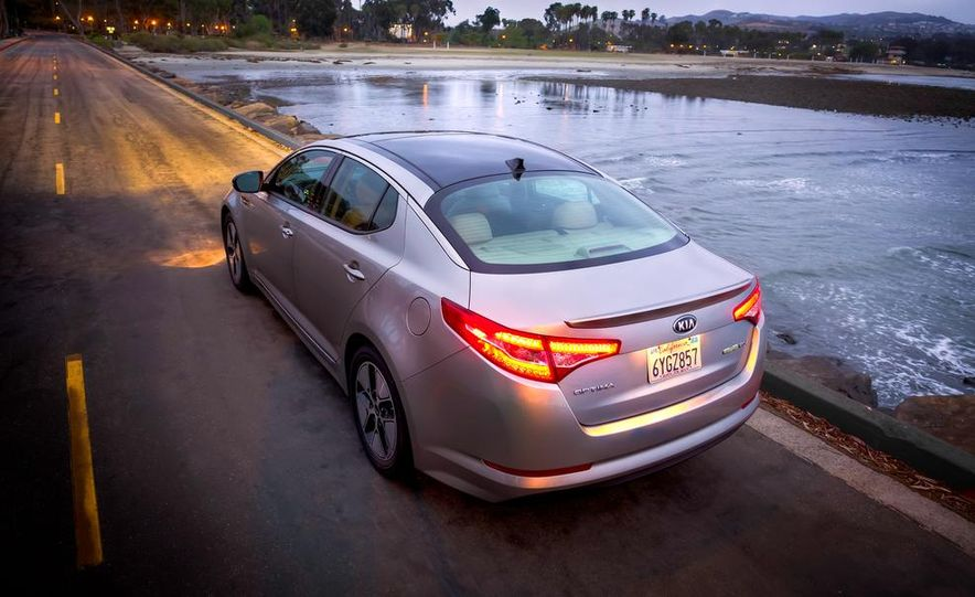2014 Kia Optima hybrid - Slide 22
