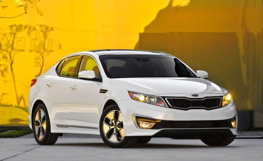 2014 Kia Optima hybrid - Slide 29