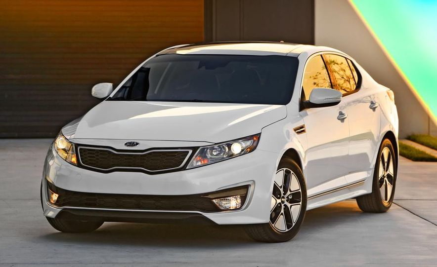 2014 Kia Optima hybrid - Slide 31