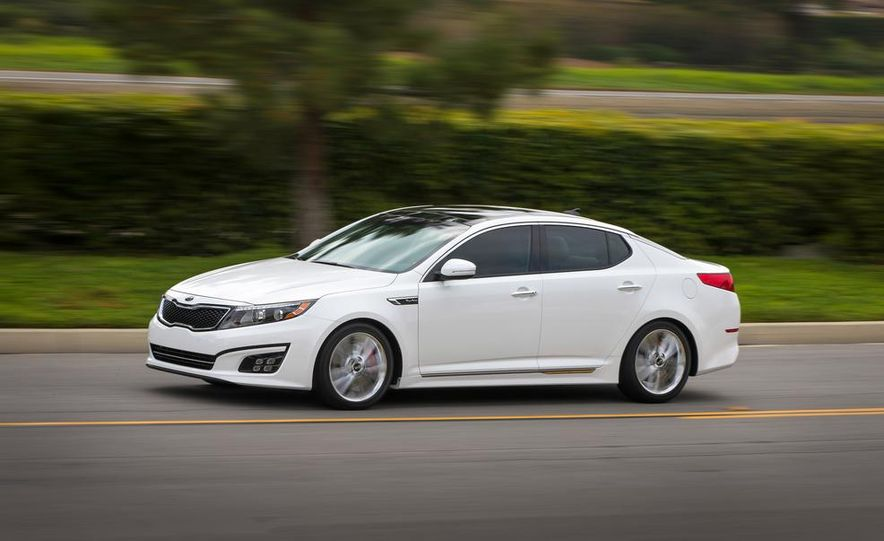 2014 Kia Optima hybrid - Slide 15