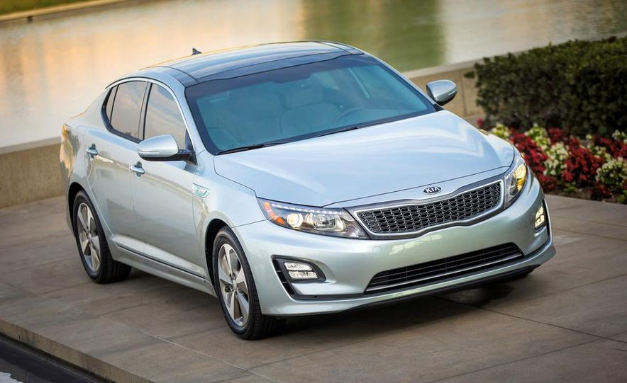 2014 Kia Optima hybrid - Slide 16