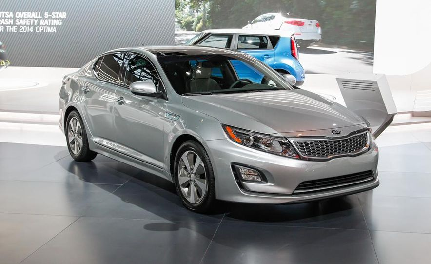 2014 Kia Optima hybrid - Slide 2