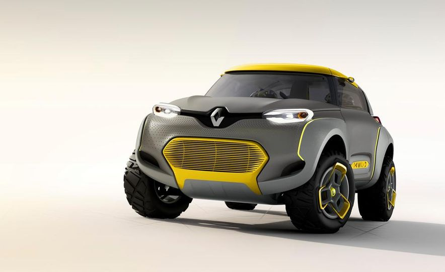 Renault Kwid concept - Slide 1
