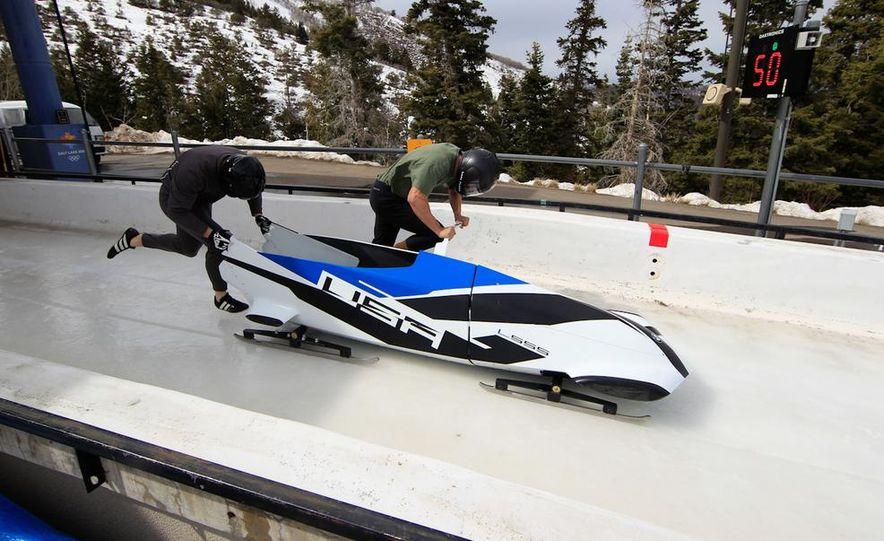 BMW Team USA Bobsled - Slide 1