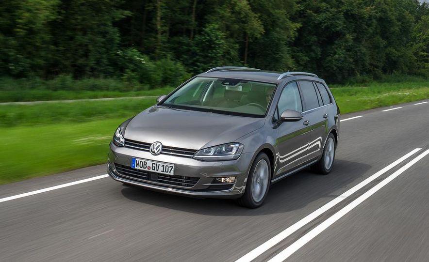 2015 Volkswagen Golf SportWagen TDI - Slide 1