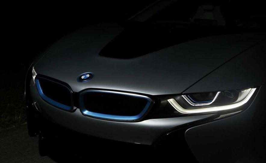 Munich's Flame Throwers: BMW Claims To Be The First With Laser Headlights - Slide 1