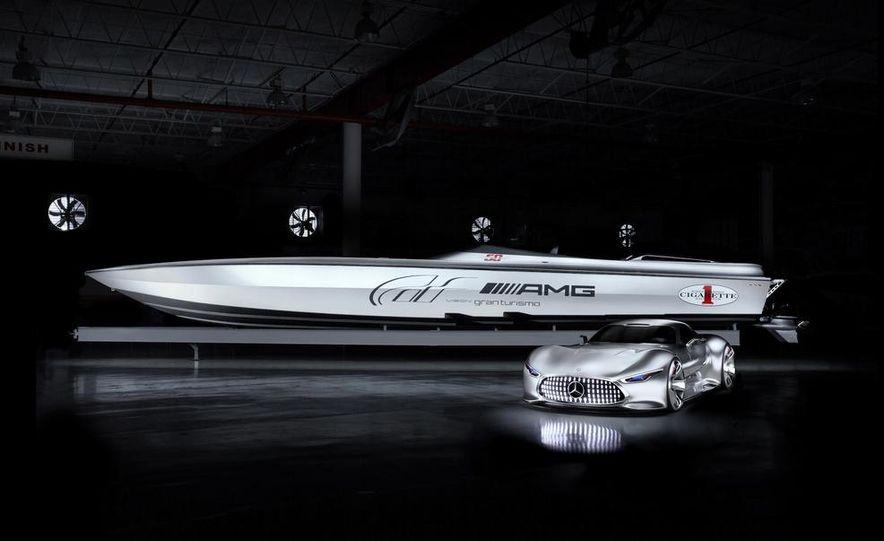 Cigarette Racing 50' Vision GT concept boat - Slide 2