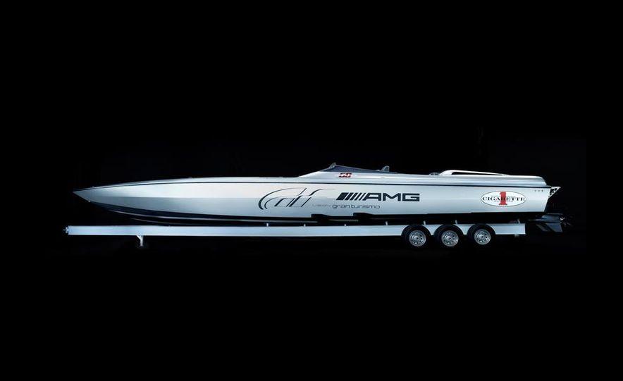 Cigarette Racing 50' Vision GT concept boat - Slide 1