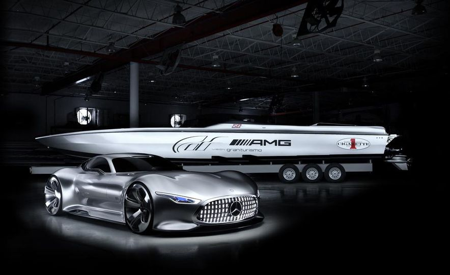 Cigarette Racing 50' Vision GT concept boat - Slide 5