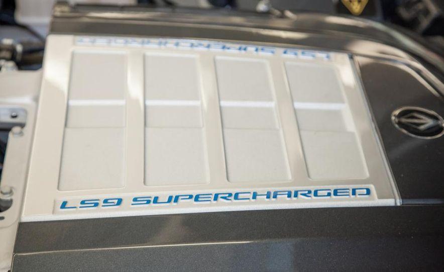 VL Automotive Destino supercharged 6.2-liter V-8 engine - Slide 1