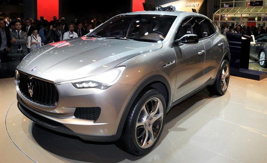 Maserati Kubang concept - Slide 4